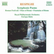Enrique Batiz: Respighi: Symphonic Poems - CD