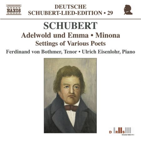 Ferdinand von Bothmer: Schubert: Lied Edition 29 - Settings of Various Poets - CD