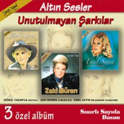Çeşitli Sanatçılar: Altın Sesler, Unutulmayan Şarkılar - CD
