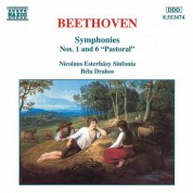 Bela Drahos, Nicolaus Esterhazy Sinfonia: Beethoven: Symphonies Nos. 1 and 6 - CD