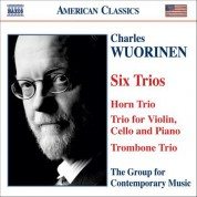 Wuorinen: 6 Trios - CD