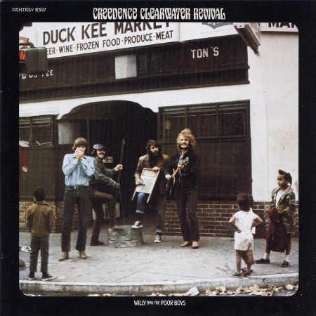 Creedence Clearwater Revival: Willy and the Poor Boys - CD