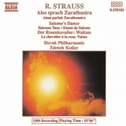 Zdenek Kosler, Slovak Philharmonic Orchestra: Strauss: Also Sprach Zarathustra - Salome's Dance - CD