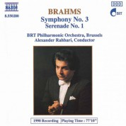 Brahms: Symphony No. 3 / Serenade No. 1 - CD