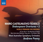 Andrew Penny: Castelnuovo-Tedesco: Shakespeare Overtures, Vol. 2 - CD
