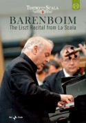 Daniel Barenboim: The Liszt Recital from La Scala - DVD