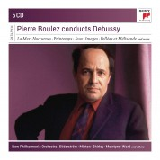 Pierre Boulez Conducts Debussy - CD