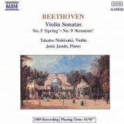 Takako Nishizaki: Beethoven: Violin Sonatas Nos. 5 and 9 - CD