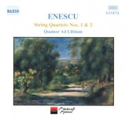 Enescu: String Quartets Nos. 1 and 2 - CD