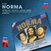 Richard Bonynge, Montserrat Caballé, Chorus of the Welsh National Opera, Orchestra of the Welsh National Opera, Luciano Pavarotti, Samuel Ramey, Dame Joan Sutherland: Bellini: Norma - CD