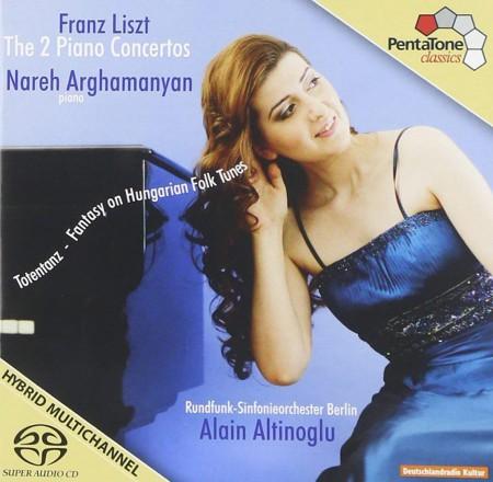 Nareh Arghamanyan, Alain Altinoglu, Rundfunk-Sinfonieorchester Berlin: Liszt: Piano Concertos 1&2, Hungarian Fantasy - SACD