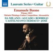 Emanuele Buono: Guitar Recital: Emanuele Buono - CD
