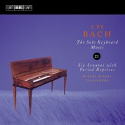 Miklós Spányi: C.P.E. Bach: Solo Keyboard Music, Vol. 21 - CD