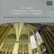 Geza Oberfrank: Bach, J.S.: St. Matthew Passion (Highlights) - CD