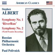 Paul Polivnick: Albert, S.: Riverrun / Symphony No. 2 - CD