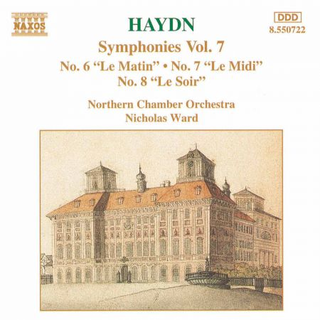 Haydn: Symphonies, Vol.  7 (Nos. 6, 7, 8) - CD