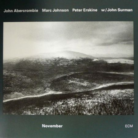 John Abercrombie, Marc Johnson, Peter Erskine, John Surman: November - CD