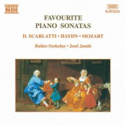 Favourite Piano Sonatas - CD