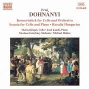 Dohnanyi: Konzertstuck for Cello / Cello Sonata / Ruralia Hungarica - CD