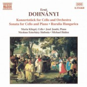 Dohnanyi: Konzertstuck for Cello / Cello Sonata / Ruralia Hungarica - CD