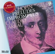 Claudio Arrau: Chopin: 26 Preludes - CD
