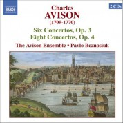 Pavlo Beznosiuk: Avison: 6 Violin Concertos, Op. 3 / 8 Violin Concertos, Op. 4 - CD