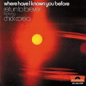 Chick Corea: Where Have I Known You Before - CD
