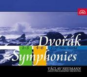 Czech Philharmonic Orchestra, Václav Neumann: Dvorak: Symphonies Nos. 1-9 - CD