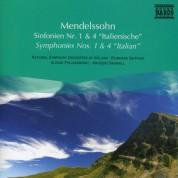 Çeşitli Sanatçılar: Mendelssohn: Symphonies Nos. 1 and 4 - CD