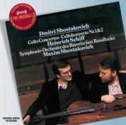 Bayerischen Rundfunks, Heinrich Schiff, Maxim Shostakovich, Symphonieorchester des Bayerischen Rundfunks: Shostakovich: Cello Concertos 1 And 2 - CD