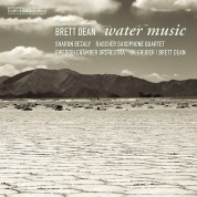 Swedish Chamber Orchestra, Brett Dean, Sharon Bezaly, Raschér Quartet: Dean: Water Music - CD