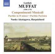 Naoko Akutagawa: Muffat: Suites for Harpsichord - CD