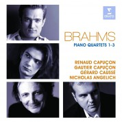 Nicholas Angelich, Gerard Causse, Renaud Capucon, Gautier Capucon: Brahms: Piano Quartets - CD