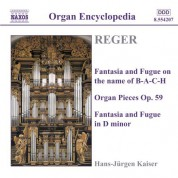 Hans-Jurgen Kaiser: Reger, M.: Organ Works, Vol.  3 - CD