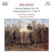 Brahms: Clarinet Quintet, Op. 115 / String Quartet No. 3 - CD