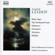 Liadov: Baba Yaga / Enchanted Lake / Kikimora - CD