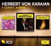 Herbert von Karajan, Berliner Philharmoniker: Herbert von Karajan - 3 Classic Albums Tchaikovsky, Dvořák - CD