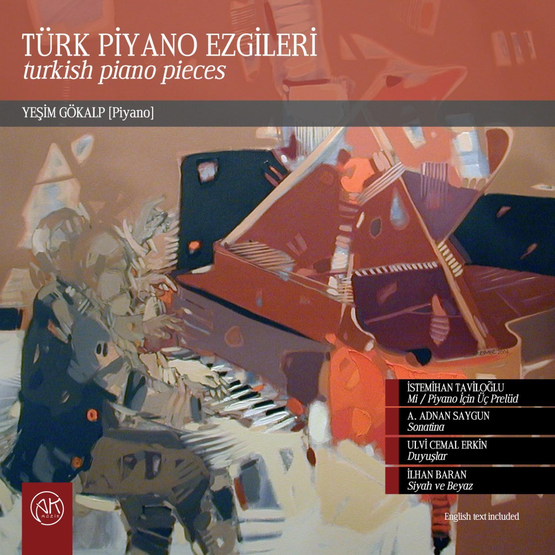 Yeşim Gökalp: Türk Piyano Ezgileri - CD - Opus3a