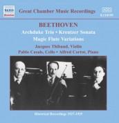 Beethoven: Archduke Trio (Thibaud / Casals / Cortot) (1926-1927) - CD