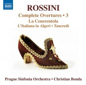 Christian Benda, Prague Sinfonia: Rossini: Complete Overtures, Vol. 3 - CD
