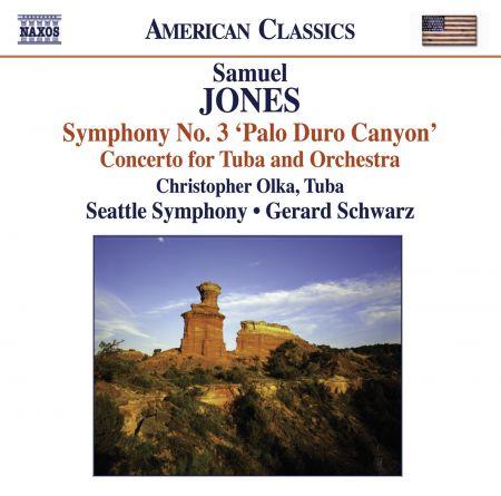 Gerard Schwarz: Jones, S.: Symphony No. 3,