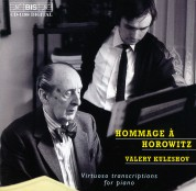 Valery Kuleshov: Hommage à Horowitz - Virtuoso transcriptions for piano - CD