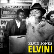 Elvin Jones: Elvin! + 1 Bonus Track!  (Deluxe Gatefold Edition. Photographs By William Claxton). - Plak