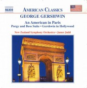 James Judd, New Zealand Symphony Orchestra: Gershwin: An American in Paris - Porgy and Bess Suite - CD