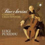 Luigi Puxeddu: Boccherini: Complete Cello Sonatas - CD
