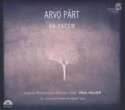 Estonian Philharmonic Chamber Choir, Paul Hillier: Pärt: Da pacem - CD