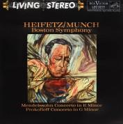 Jascha Heifetz: Mendelssohn - Concerto In E Minor - Prokofiev - Concerto No. 2 In E Minor - Plak