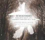 Orchestre de Chambre de Lausanne, Heinz Holliger: Schoenberg/ Webern: Verklaerte Nacht Op.4/ Chamber Symphony No. 2 op. 38 - CD