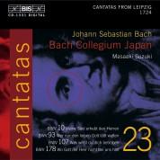 Bach Collegium Japan, Masaaki Suzuki: J.S. Bach: Cantatas, Vol. 23 (BWV 10, 93, 178, 107) - CD