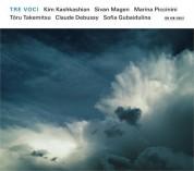 Kim Kashkashian, Sivan Magen, Marina Piccinini: Takemitsu, Debussy, Gubaidulina: Tre Voci - CD